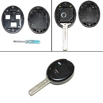 Amazon.com: Lexus llave de repuesto shell remoto Fob carcasa ...