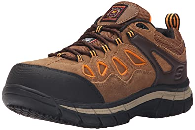 9ad2885214f6 Amazon.com  Skechers for Work Men s Dunmor Comp Toe Work Shoe  Shoes