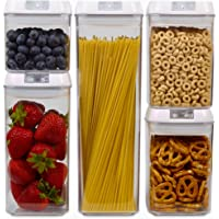 Flip Top Plastic Food Storage Set