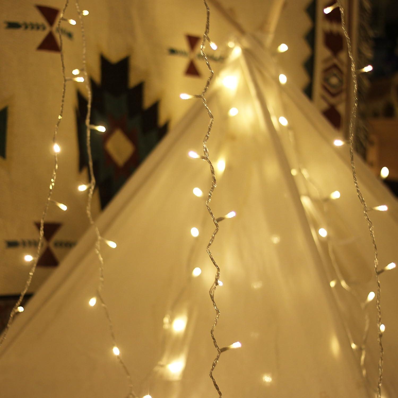 Amazon.com : LED String Lights, by myCozyLite, Plug in String Lights ...