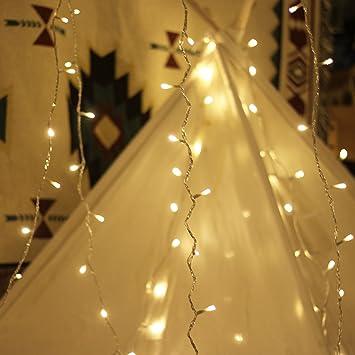 Amazon.com : LED String Lights, by myCozyLite, Plug in String ...