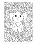Notebook Doodles Adorable Pets: Coloring & Activity