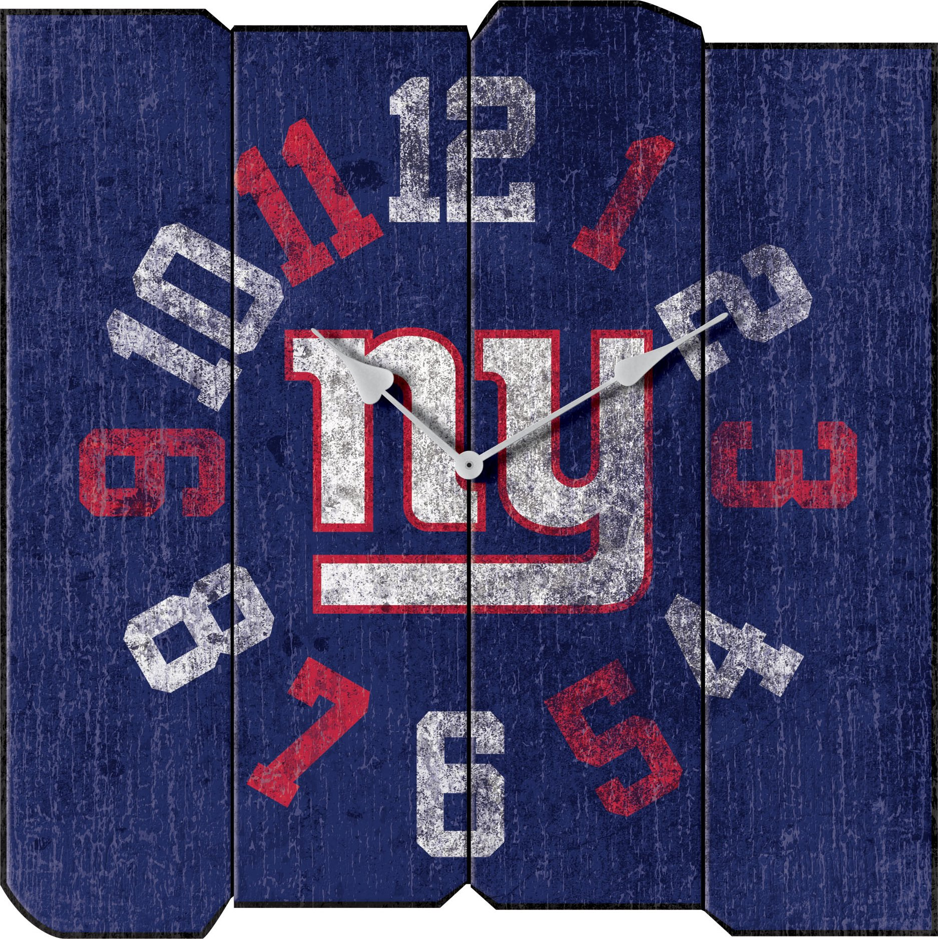 Imperial Officially Licensed NFL Merchandise: Vintage Square Clock, New York Giants by Imperial