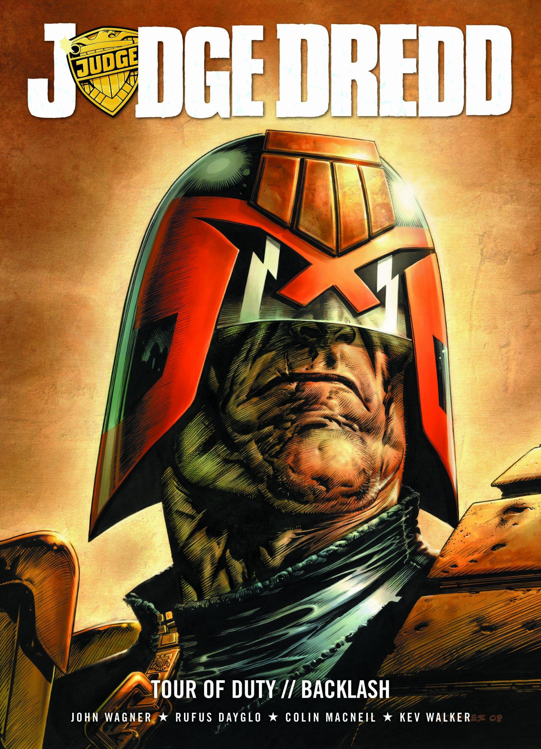 Judge Dredd Tour Of Duty The Backlash Paperback 2010
