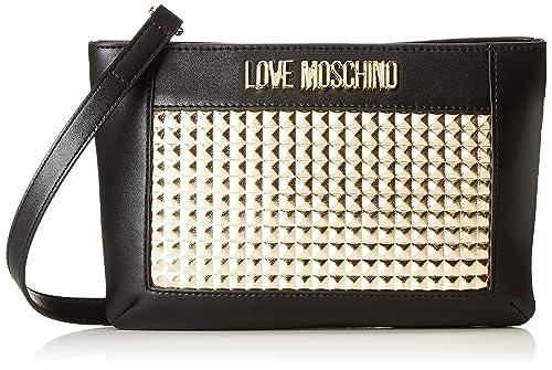 Love Moschino Calf Pu, Borsa a tracolla Donna, (Oro