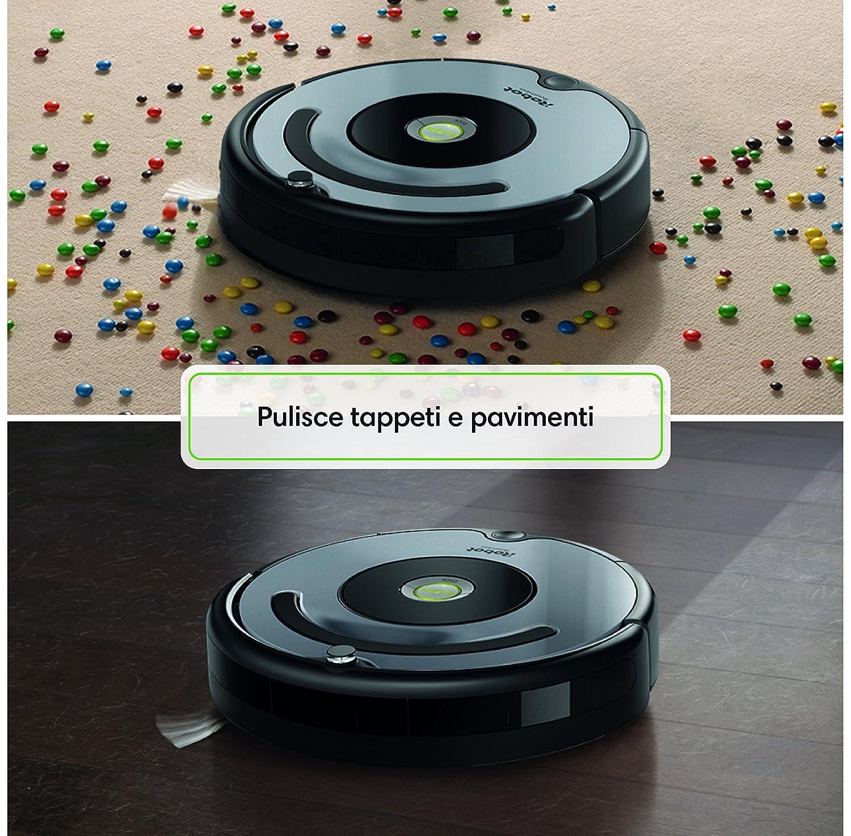 Irobot Roomba 671 Robot Aspirapolvere Sistema Di Pulizia Ad Alte