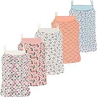 PiriModa Camiseta Interior de Tirantes Finos para niña - Hecha de algodón Suave y cómodo - Diferentes Motivos - Pack de…