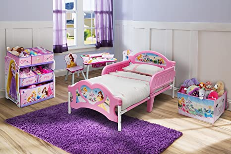Letto Carrozza Disney : Disney lettino per bambina motivo principesse disney: amazon.it