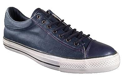 converse slip on blu