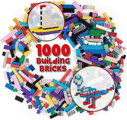 5 BLUE 1x8 Smooth Finishing Tile Brick Bricks  ~ Lego  ~ NEW