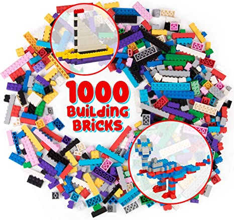 Clean Bulk Lot of 300 Lego Pieces Bricks Beams Plates Studs CHOOSE YOUR COLOR