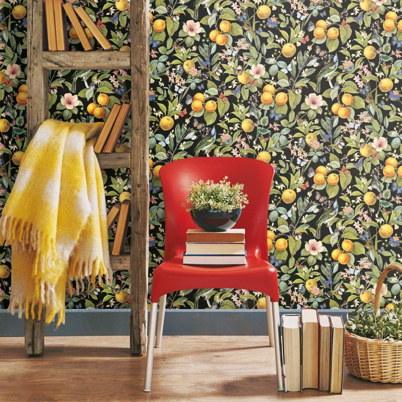 RoomMates Citrus Peel Peel and Stick Wallpaper