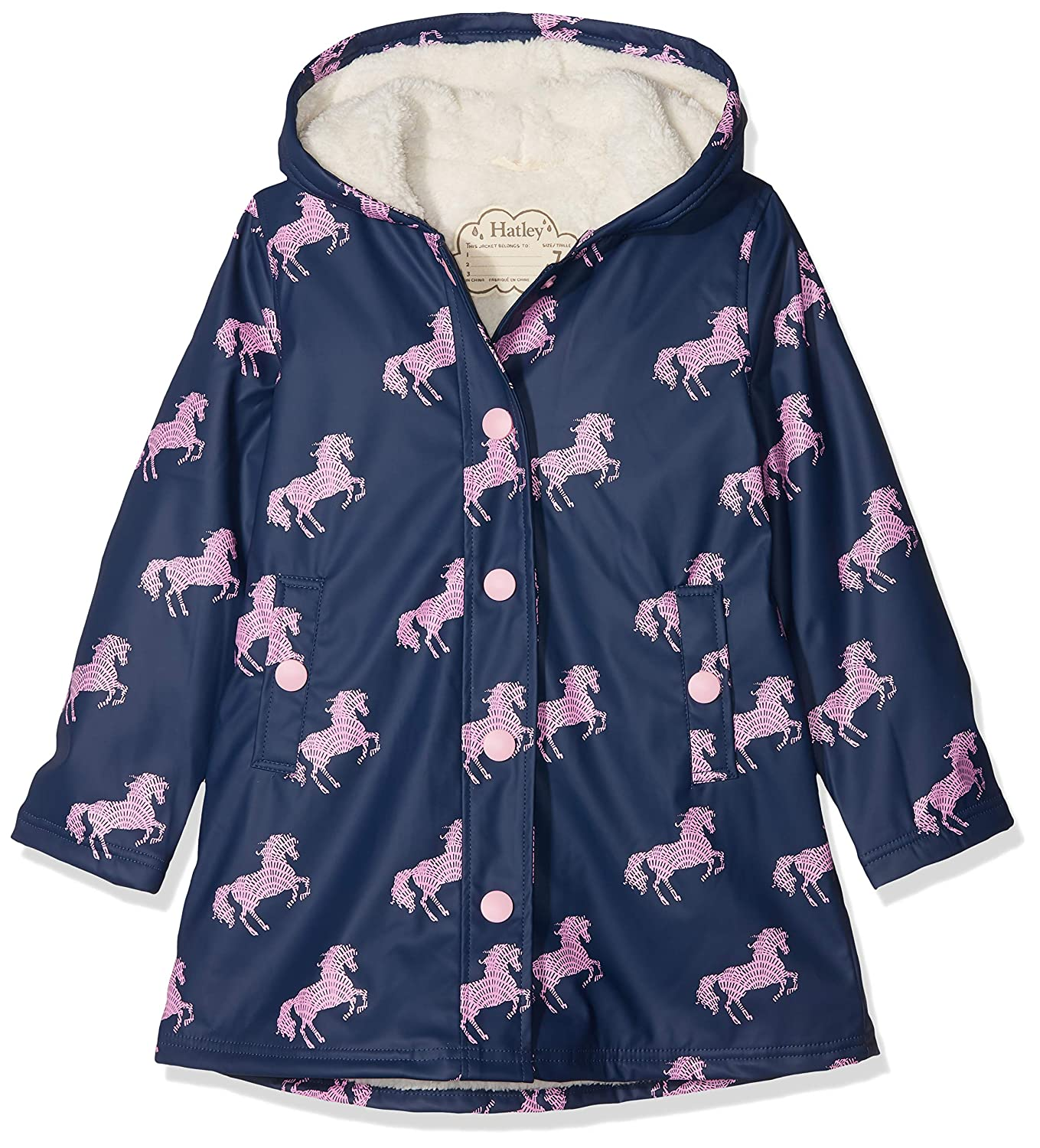 Hatley Girls' Sherpa Lined Splash Jacket Hatley Children's Apparel RC8SP