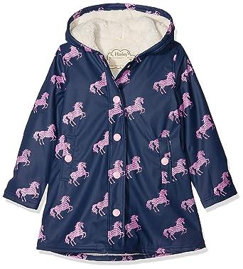 8e3c72b32 Amazon.com  Hatley Girls  Sherpa Lined Splash Jacket  Clothing