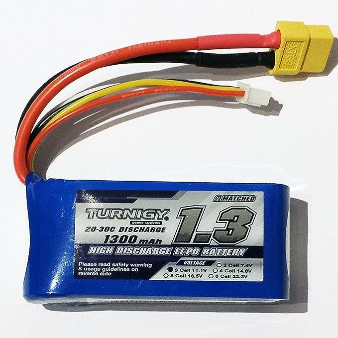 ZIPPY Compact 1300mAh 3S 25C Lipo Akku Pack Modellbau Eibl