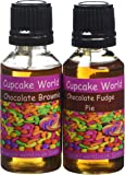 Chocolate Brownie and Chocolate Fudge Pie Intense Food Flavours (Two 28.5 ml bottles)