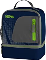 Thermos Radiance Dual Compartment Lunch Kit - Navy