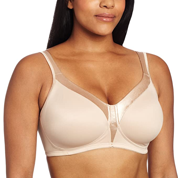 9e38720385 Playtex Women s 18 Hour Sensational Sleek Wirefree Full Coverage Bra  4803