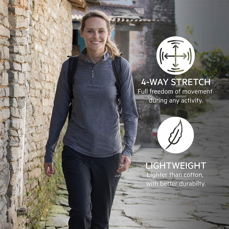 Sherpa Naulo Women's 5 Pocket Trouser Black