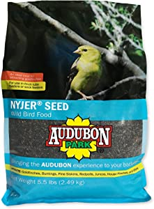 Audubon Park 12222 Nyjer/Thistle Seed Wild Bird Food, 5.5-Pounds