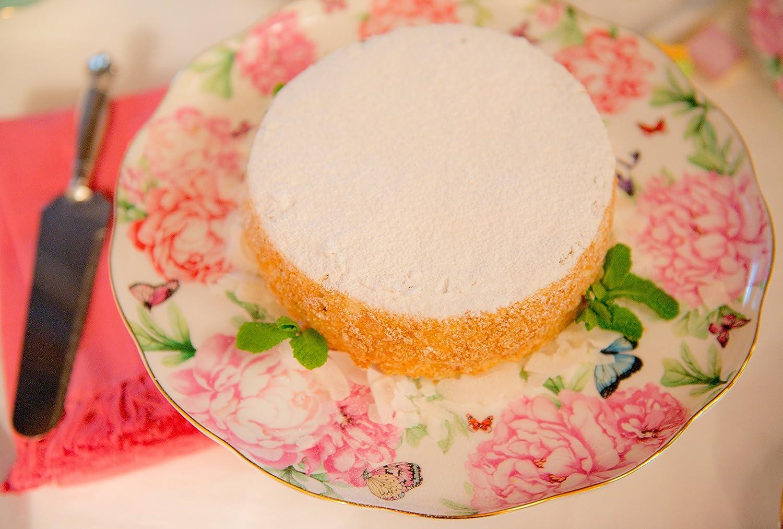 Royal Albert 40001834 Gratitude Cake Stand Designed by Miranda Kerr Large,Multicolored