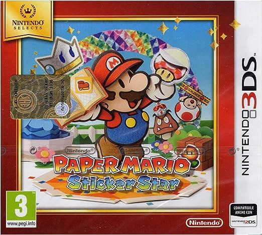 Nintendo Paper Mario: Sticker Star Básico Nintendo 3DS Inglés ...