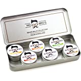 Mo Bro's - Barbe Baume Collection Ensemble Cadeau 15ml (6 Différent Parfums Par Conserve)