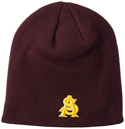 fe1c88033bd Amazon.com   Zephyr NCAA Arizona State Sun Devils Edge Knit Beanie ...