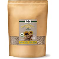 Biojoy Semi di Girasole Biologici sgusciati crudi | semi per misto di insalate e dessert, per la cottura del pane e per mangiare, naturali e senza sale | Qualità Premium | Hlianthus annuus (1,5 kg)