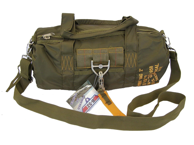 BAG-Bolsa PARA 2 paracaidismo style con Mosquetón con cierre rápido SBB PARA BAG 2