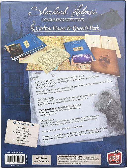 Sherlock Holmes Queen/'s Park Ystari