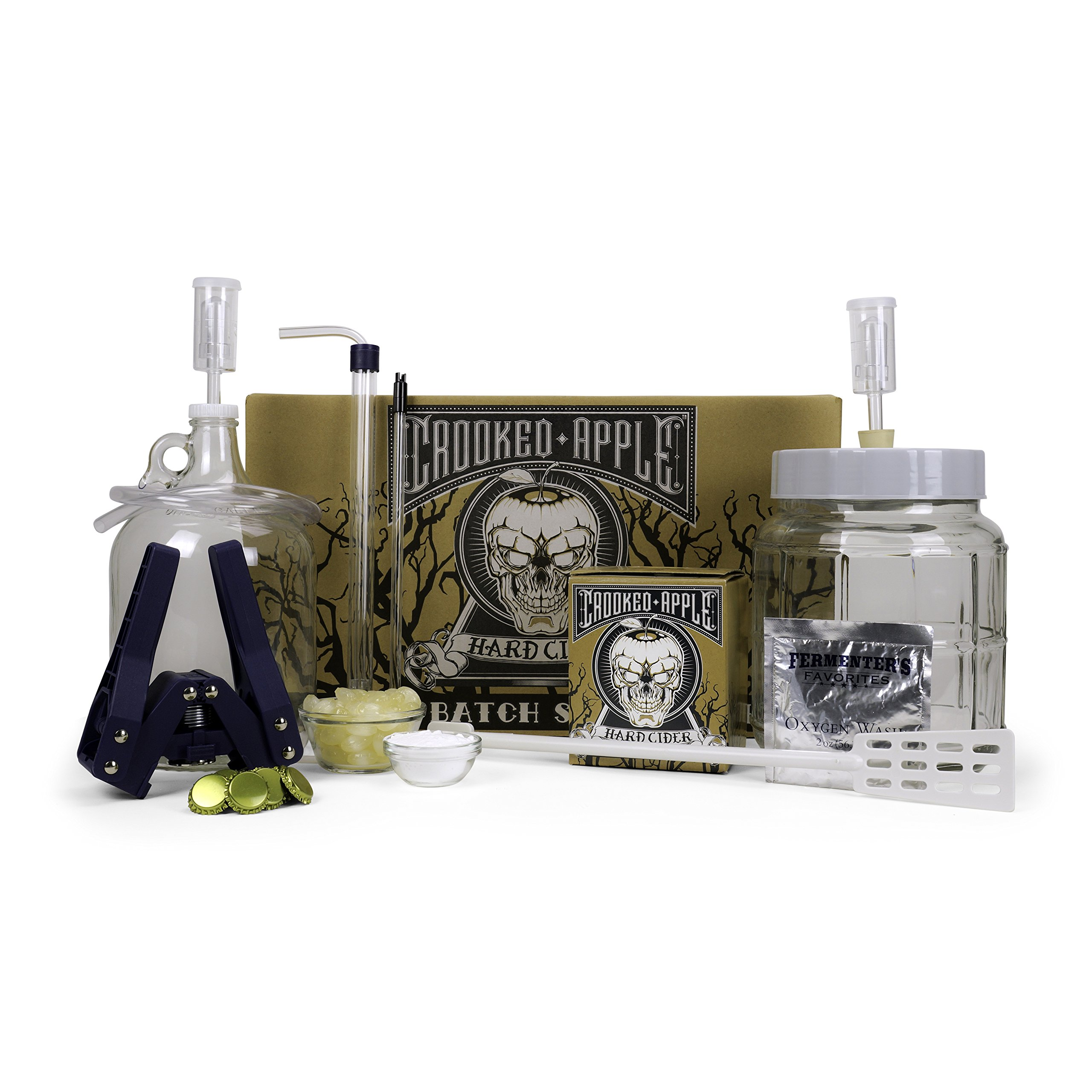 Northern Brewer - Crooked Apple Hard Cider Starter Kit, Makes One Gallon by Northern Brewer