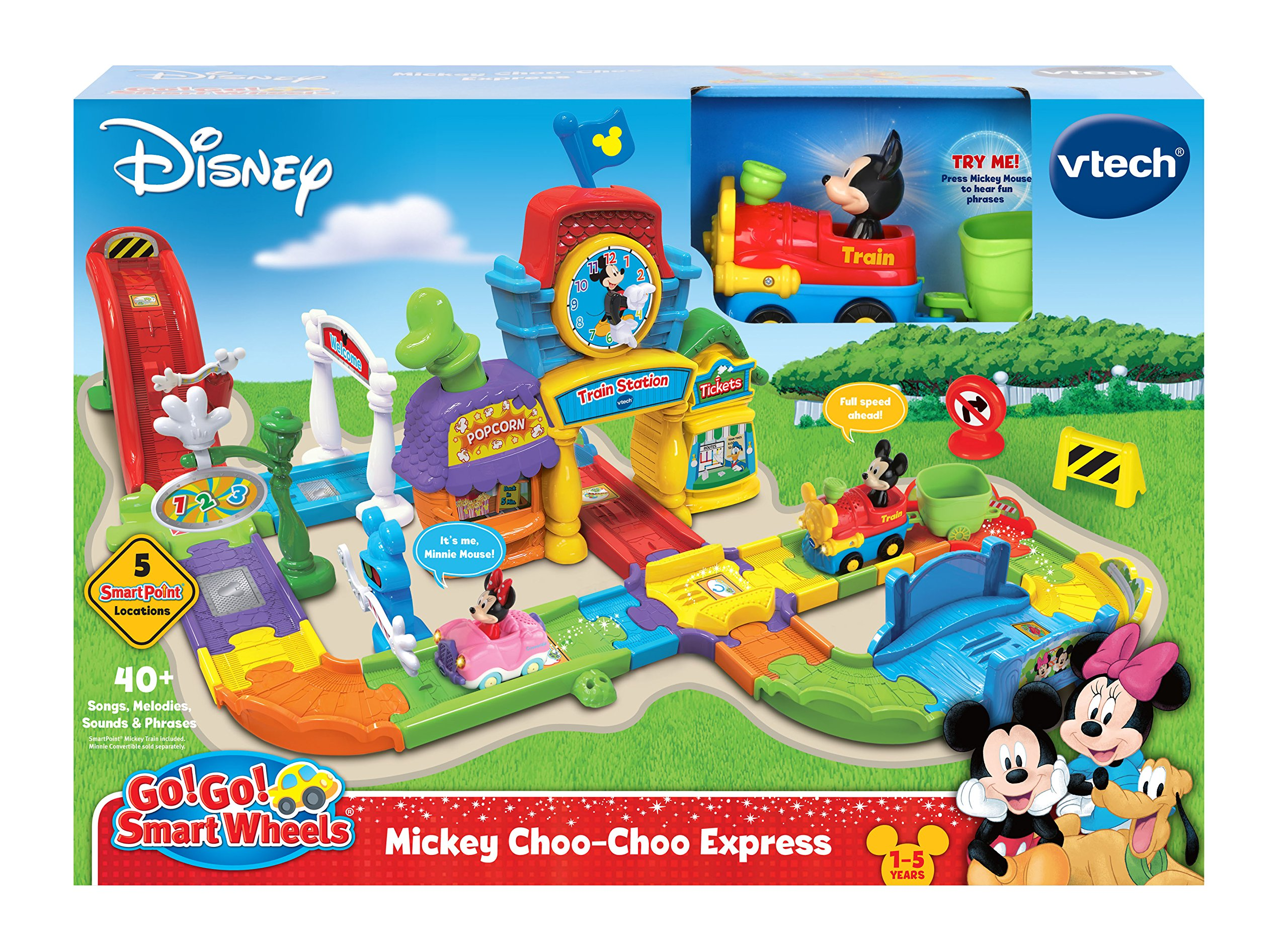 VTech Go! Go! Smart Wheels Mickey Mouse Choo-Choo Express by VTech (Image #6)
