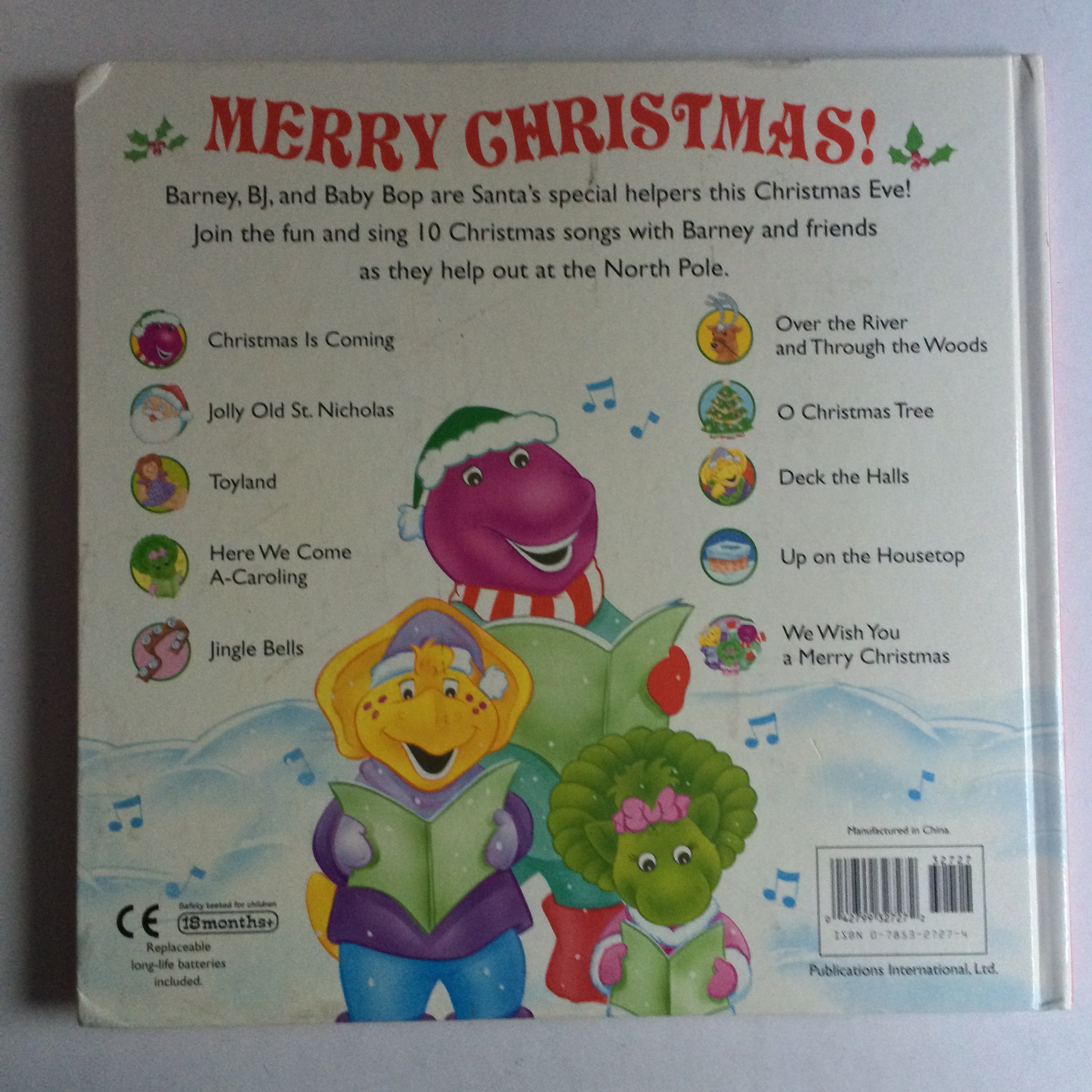 Barney Christmas Songs: Amazon.co.uk: June Valentine: 9780785327271 ...