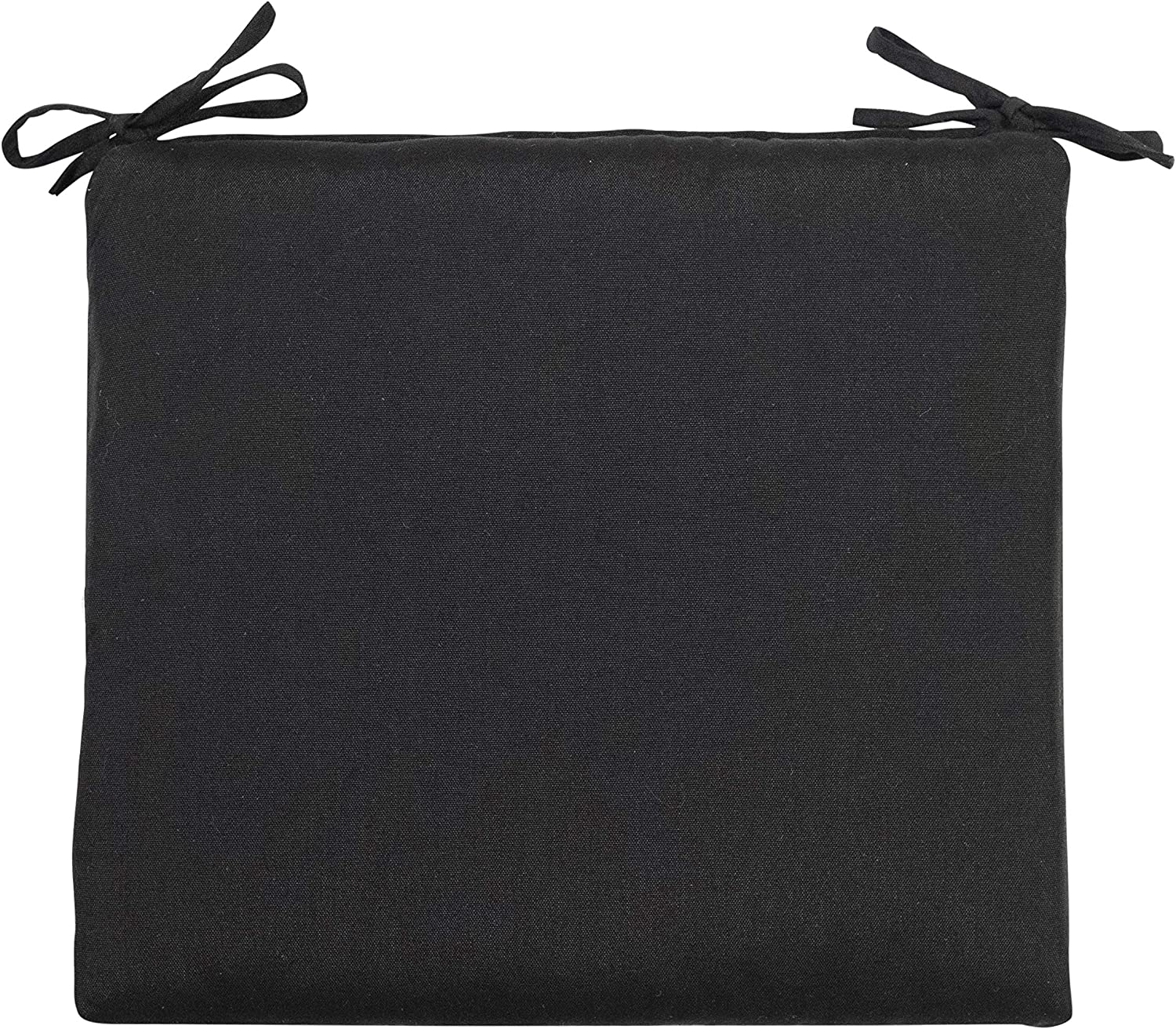 Decor Therapy 7743-01103537 Outdoor Seat Cushion, Black