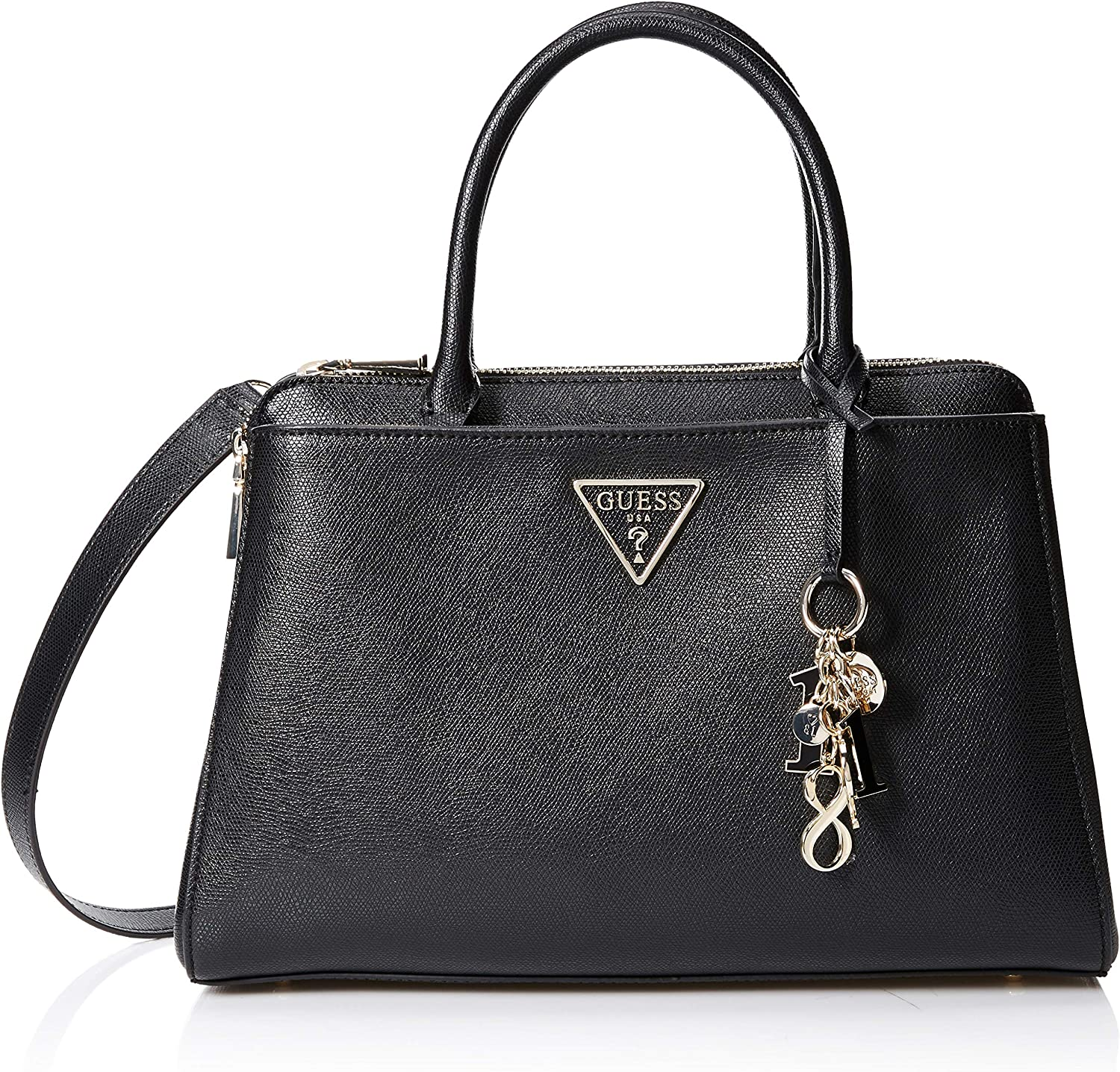 Guess Damen Maddy Girlfriend Satchel Handtasche -