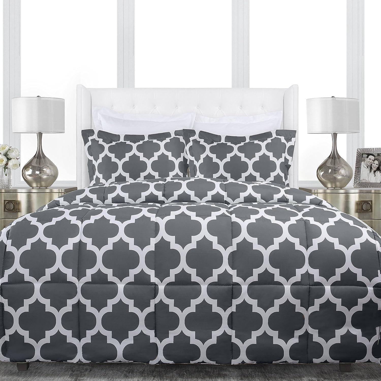 Quatrefoil Comforter Comfort