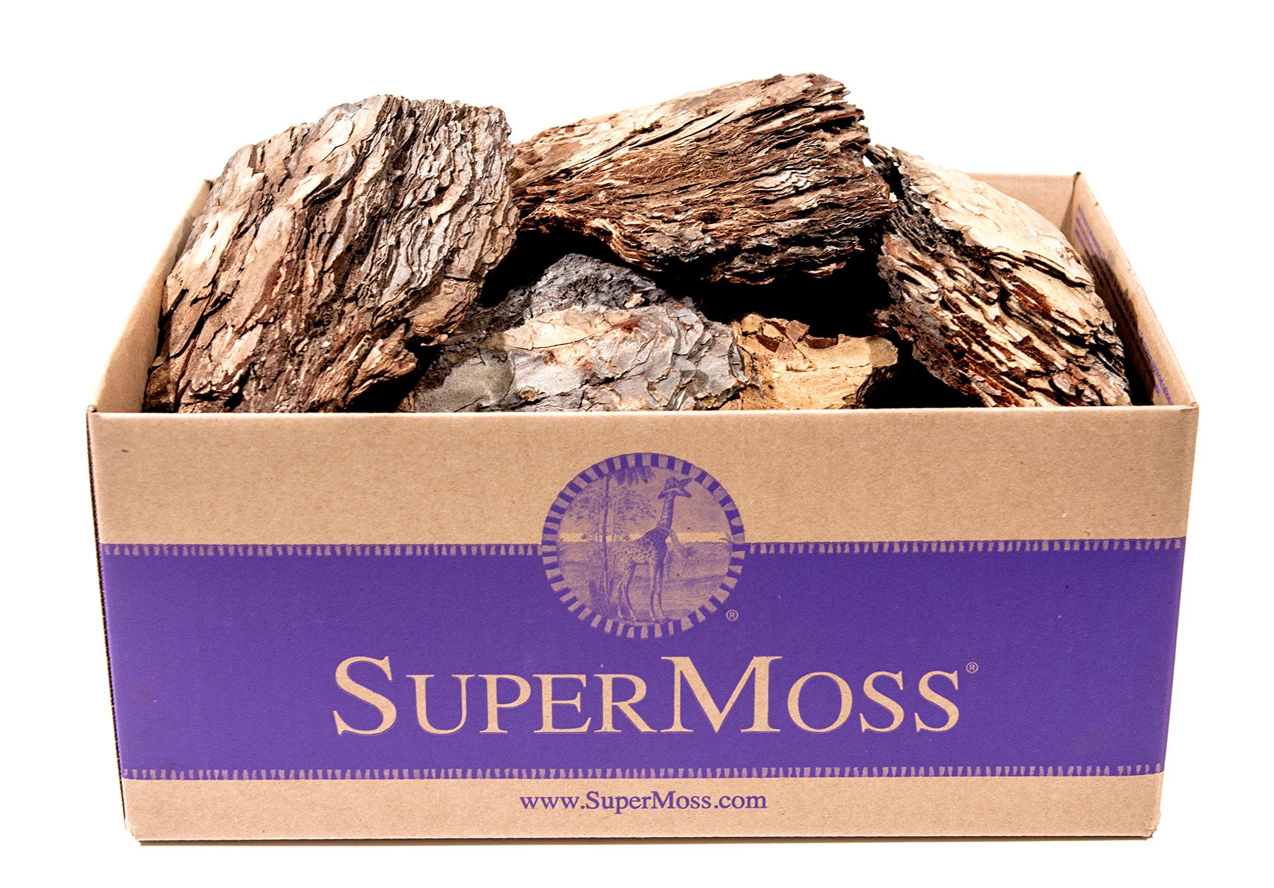 SuperMoss (23255) Decorative Bark, Natural, 5lbs (4950 cu. In.)