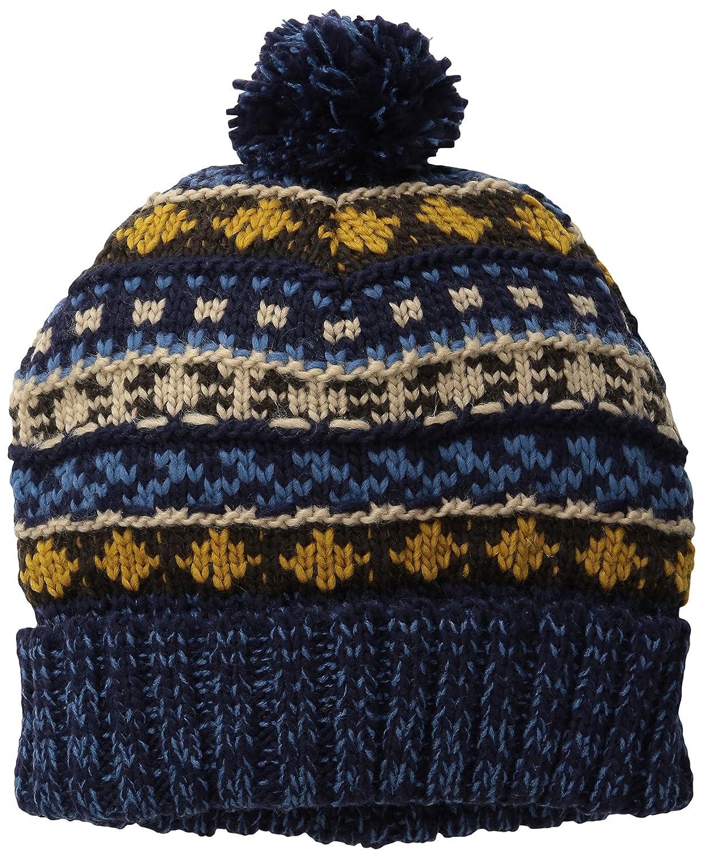 55d9a1f9738 Amazon.com  Muk Luks Women s Fairisle Hat with Pom