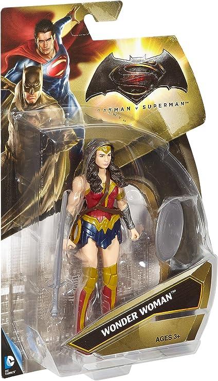 """DC Justice Ligue Film Wonder Woman Action Figure 6/"""" Mattel avec épée /& Bouclier"""