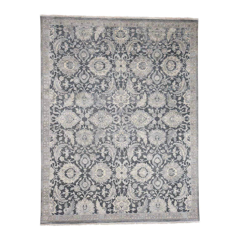 Terrific Amazon Com Silk With Oxidized Wool Oushak Hand Knotted Creativecarmelina Interior Chair Design Creativecarmelinacom