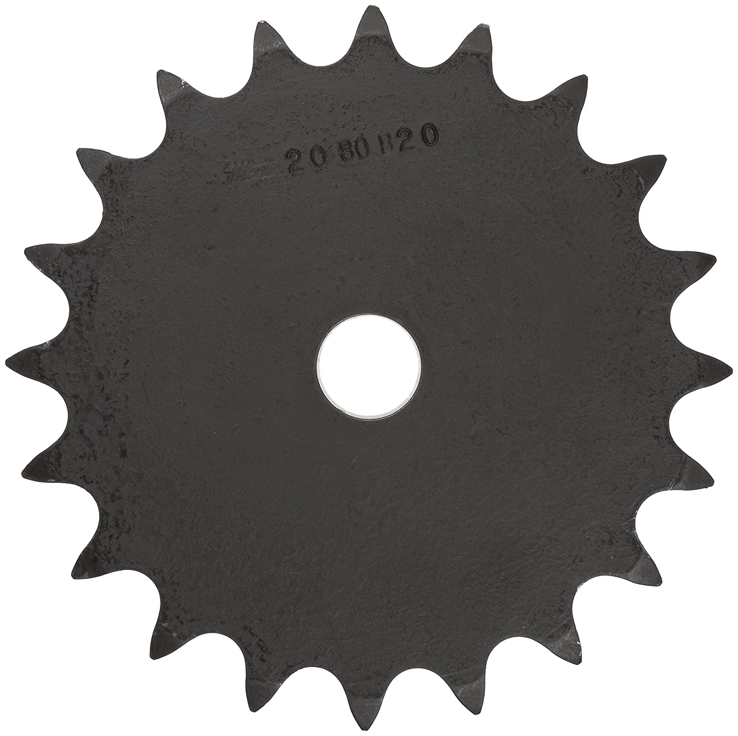 2 Pitch Double Pitch Strand Type B Hub 6.59 OD 4.25 Hub Dia. Reboreable 0.575 Width 2080//C2080 Chain Size 19 Teeth 1 Bore Dia. Martin Roller Chain Sprocket