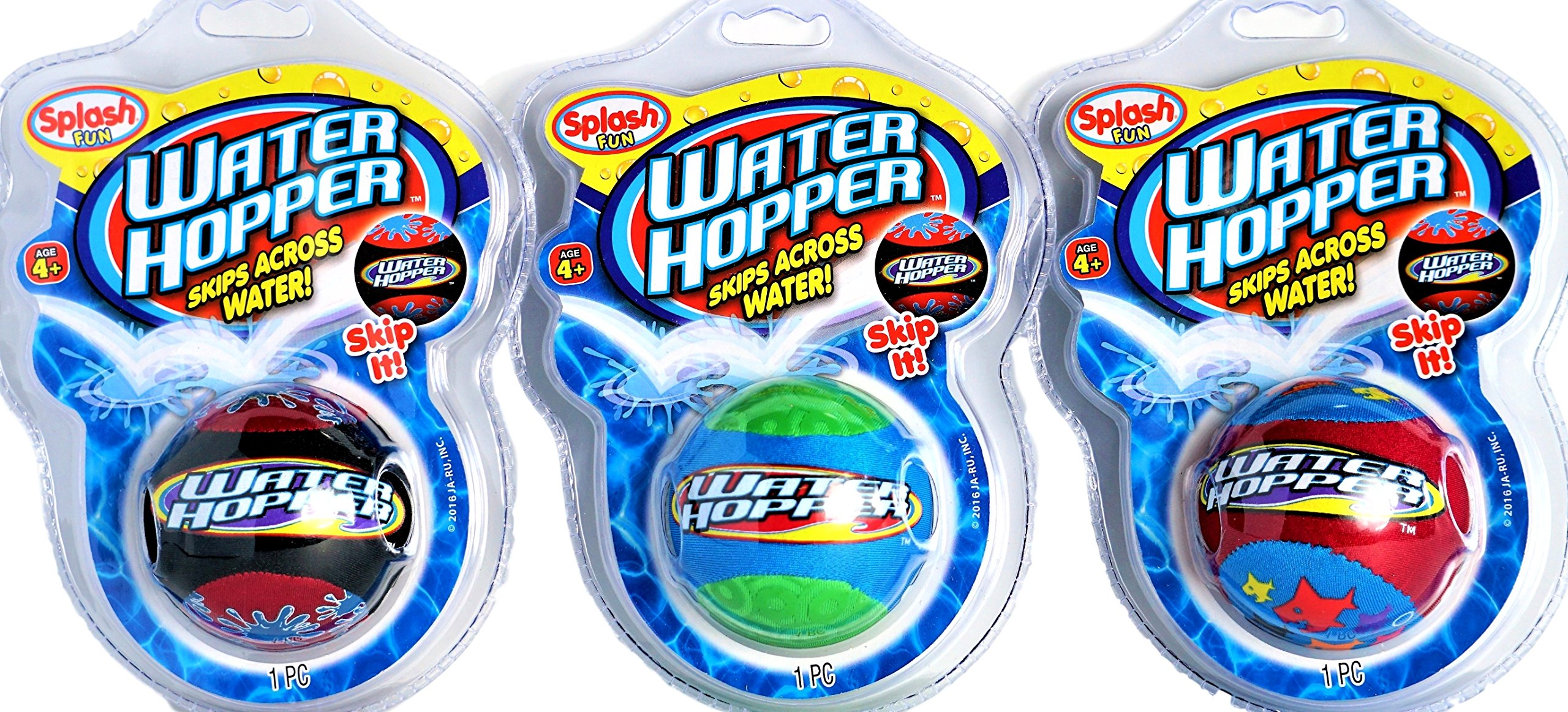 JA-RU Pro Water Hopper Skip it Bouncing Ball (Pack of 72 Units) Bounce & Skips | Item #880-72 by JA-RU (Image #2)