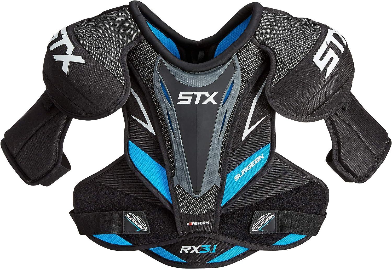 STX Ice Hockey Surgeon RX3.1 Senior Shoulder Pad, Large : Sports & Outdoors