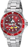 Invicta Men's 'Disney Limited Edition' Automatic Stainless Steel Casual Watch, Color:Silver-Toned (Model: 24609)