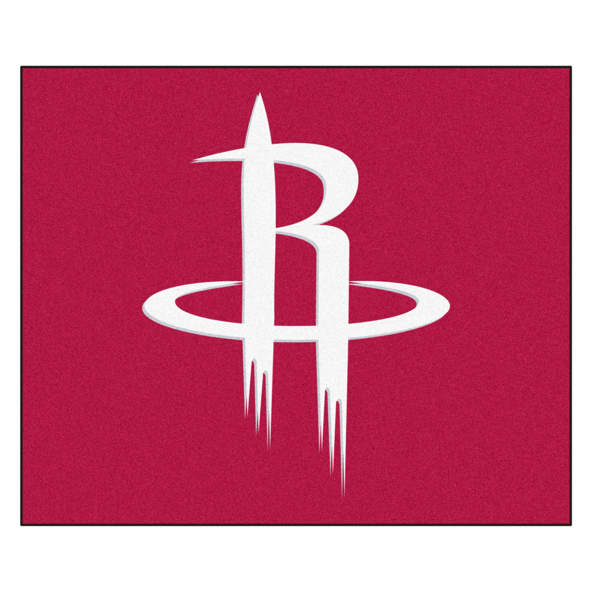 FANMATS 19443 NBA - Houston Rockets Tailgater Rug , Team Color, 59.5''x71''