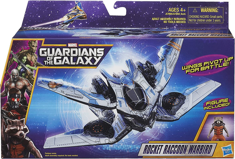 Hasbro Marvel Guardians of the Galaxy lot  Milano Starship raccoon warbird nova