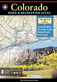 Colorado Road Recreation Atlas Benchmark Maps - Colorado road map