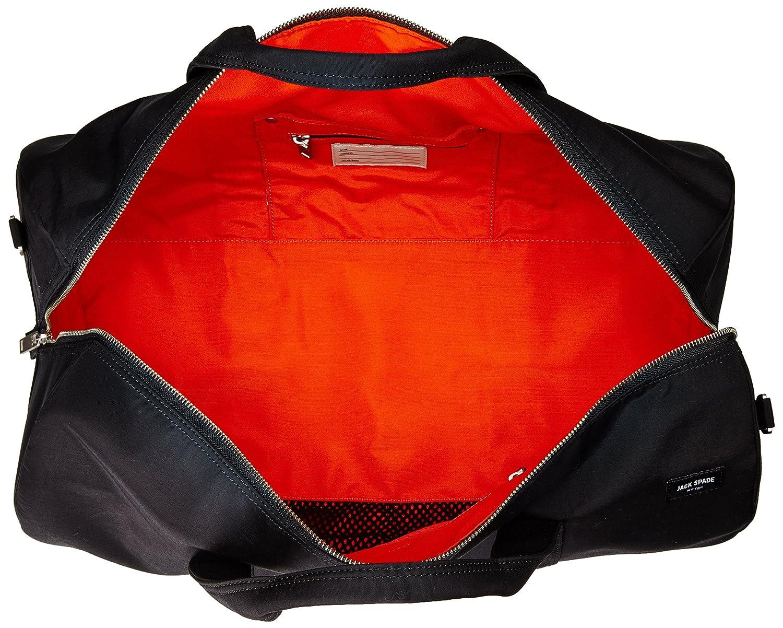 c1e01f4b38 Amazon.com  Jack Spade Men s Tech Travel Nylon Gym Duffle Duffel Bags Black  One Size  Clothing
