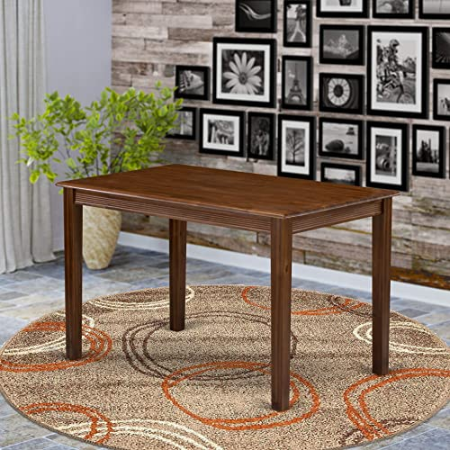 East West Furniture YAT-AWA-T Dining Table
